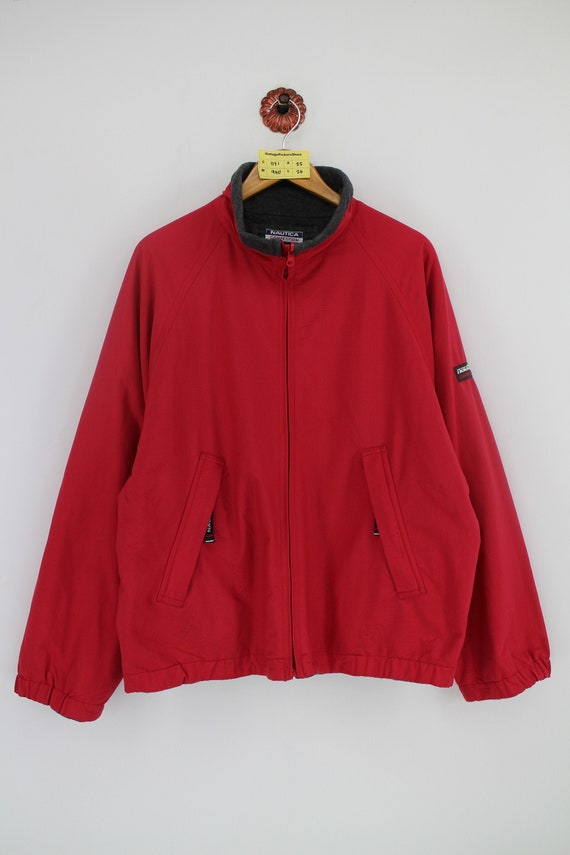 Vintage 90s NAUTICA COMPETITION Reversible Jacket