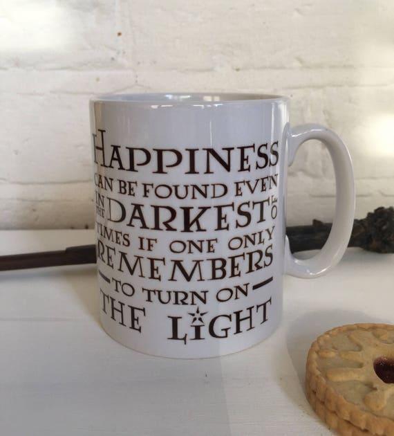 Harry Potter Christmas Gifts.Harry Potter Quote Mug Christmas Gift Idea Stocking Filler Secret Santa