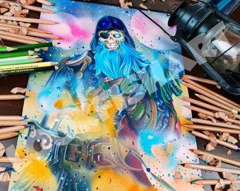 Reggie Fils-Aimé Portrait quality print poster/A3 quality | Etsy