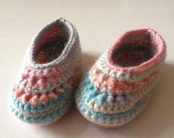 Crocheted Baby Ballerina