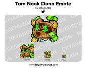 Animal Crossing Tom Nook Dono Emote for Twitch, Discord or Youtube