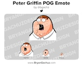 Peter Griffin POG Emote for Twitch, Discord or Youtube