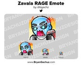 Destiny 2 Zavala RAGE Emote for Twitch, Discord or Youtube