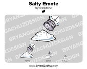Salty Emote for Twitch, Discord or Youtube