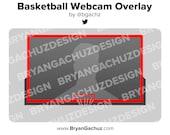 Basketball Backboard Webcam Overlay