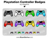 Video Game Controller Subscriber - Loyalty - Bit Badges for Twitch, Discord or Youtube