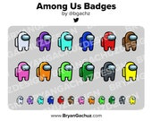 Among Us Crewmate/Imposter Subscriber - Loyalty - Bit Badges for Twitch, Discord or Youtube