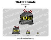 TRASH Emote for Twitch, Discord or Youtube