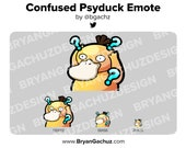 Pokemon Confused Psyduck Emote for Twitch, Discord or Youtube