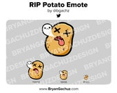 RIP Potato Emote for Twitch, Discord or Youtube