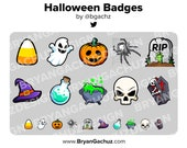 Halloween Subscriber - Loyalty - Bit Badges for Twitch, Discord or Youtube