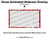 Christmas Animated Webcam Overlay for Twitch (Animated)
