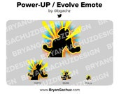Power-Up / Evolve Emote for Twitch, Discord or Youtube