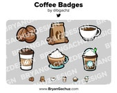Coffee Subscriber - Loyalty - Bit Badges - Channel Points for Twitch, Discord or Youtube