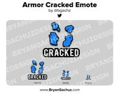 Armor Cracked WARZONE Emote for Twitch, Discord or Youtube