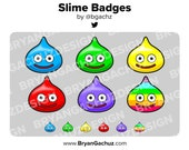 Slime Subscriber - Loyalty - Bit Badges for Twitch, Discord or Youtube