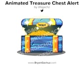 Treasure Chest Animation Alert for Twitch or Youtube