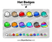 Snapback Hat Subscriber - Loyalty - Bit Badges - Channel Points for Twitch, Discord or Youtube
