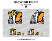 Destiny 2 Shaxx GG Emote for Twitch, Discord or Youtube