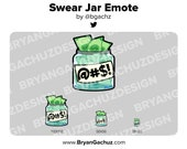 Swear Jar Emote for Twitch, Discord or Youtube