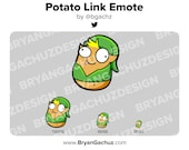 Potato Link Emote for Twitch, Discord or Youtube