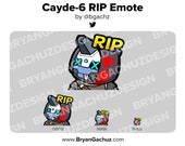 Destiny 2 Cayde-6 RIP Emote for Twitch, Discord or Youtube