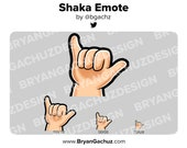 Shaka Emote for Twitch, Discord or Youtube