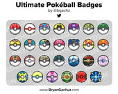 Ultimate Pokeball Subscriber - Loyalty - Bit Badges for Twitch, Discord or Youtube