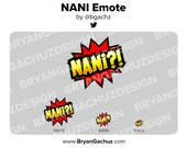 NANI Emote for Twitch, Discord or Youtube