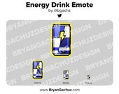 Energy Drink Emote for Twitch, Discord or Youtube