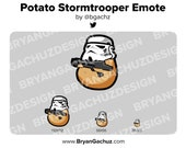 Potato Trooper Emote for Twitch, Discord or Youtube