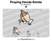 Praying Hands Emote for Twitch, Discord or Youtube