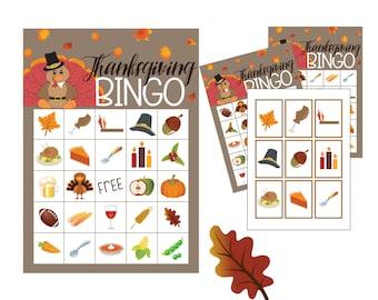 Thanksgiving Games Bingo, thanksgiving DIY games, turkey bingo, pilgrim games, kids dinner games, thanksgiving kids games, DIY holiday
