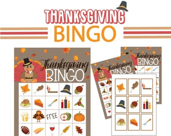 Thanksgiving Bingo, thanksgiving games
