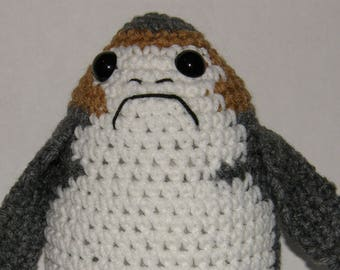 Porg from Star Wars Amigurumi Crochet Pattern - Make Your Own Porg - Instant Download