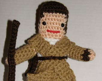 Rey from Star Wars Amigurumi Crochet Pattern - Make Your Own Rey - Instant Download