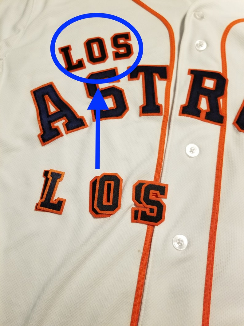 f04230df Houston LOS Astros Gold Championship Jersey FRONT | Etsy
