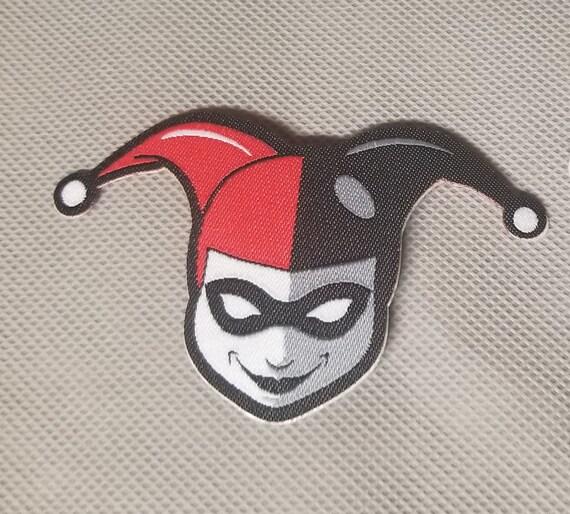 Harley Quinn Patch Peler Et Coller Fer Sur Facile A Etsy
