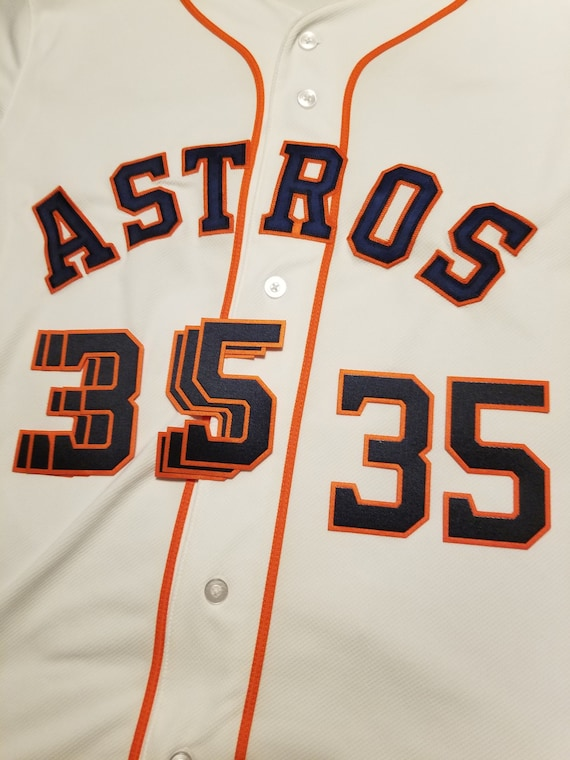 competitive price bd3ec e80d7 Houston Astros Jersey FRONT Number