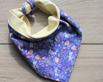 Reversible Tie Dog Bandana, Pet accessory, Bandana, Reversible Pet Bandana, Puppy Bandana, Dog Scarf,  Dog Gift, Neckerchief