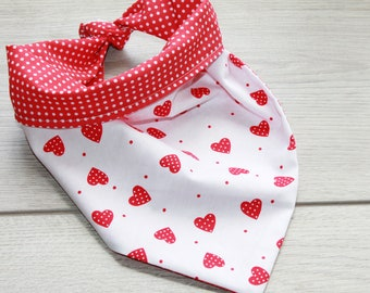 Personalised Reversible Tie Dog Bandana, Pet accessory, Bandana, Reversible Pet Bandana, Puppy Bandana, Dog Scarf,  Dog Gift, Neckerchief