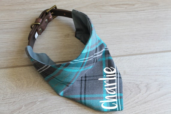 Personalised Tartan Dog Bandana
