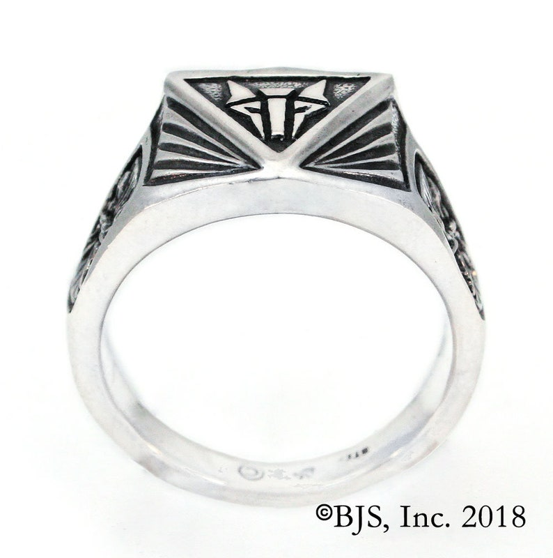 Sterling Silver House Mars Ring Free Shipping Institute Ring for House Mars from the Red Rising series by Pierce Brown Sizes 6-13.5