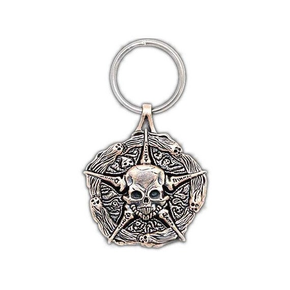 Officially Licensed with Sideshow Underworld United Medallion Skull Pendant Free Shipping Sterling Silver Court of the Dead Necklace