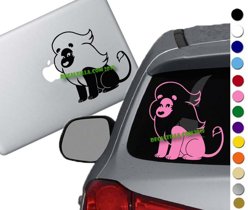 Steven Universe- Lion Vinyl Decal Sticker -For cars, laptops, phones and  more!