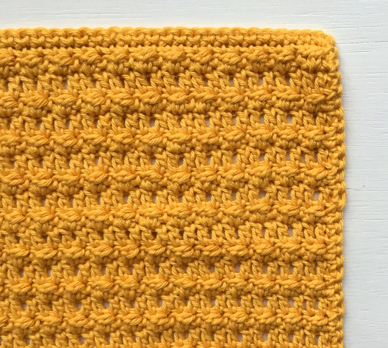 Crochet Washcloth| Cotton Washcloth Crochet Pattern Crochet Washcloth Pattern PDF Textured Crochet Washcloth Crochet Baby Washcloth