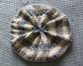 Cold Day Knit Beret