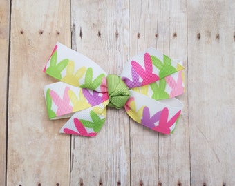 Easter bow, peep bow, Easter clip, peep clip