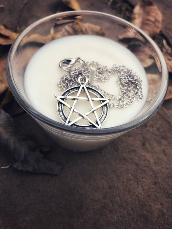 Pentacle Necklace, Pentacle, Pentagram Necklace, Pagan Necklace, Wiccan Necklace, Wiccan Symbol, Pagan Symbol, Star Necklace by Etsy