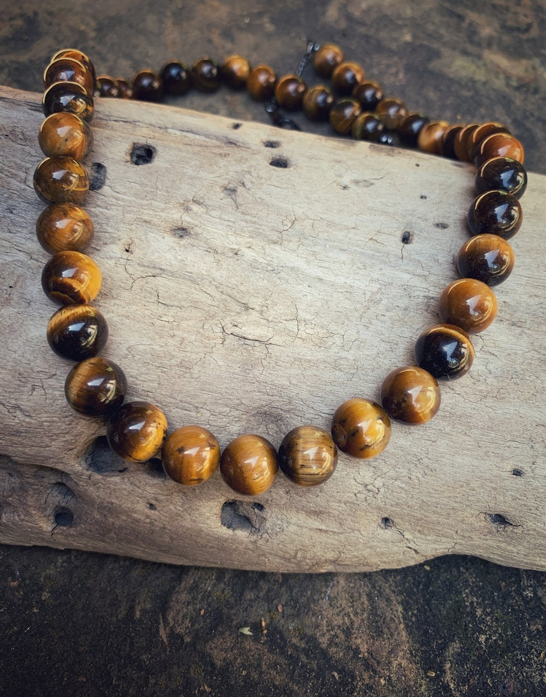 Tigers Eye Necklace Men\u2019s Tiger Eye necklace men\u2019s jewelry